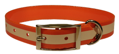Ошейник TPU Reflective Collar 25 Orange